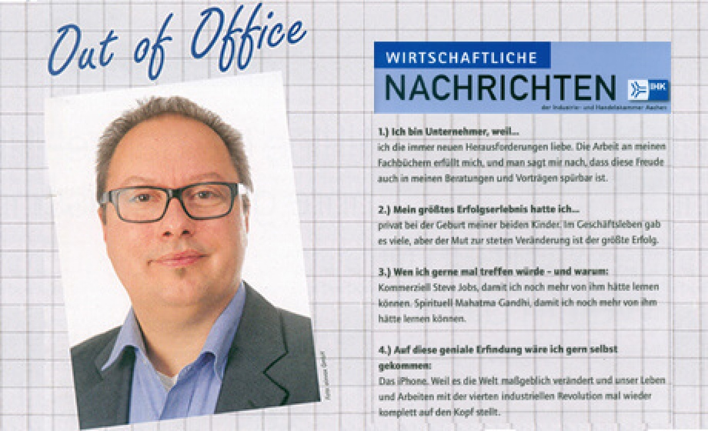 Immer Office - Homeoffice - Out of Office